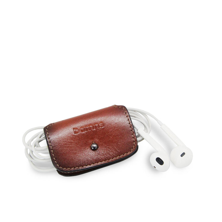 Aurora Leather Cable Snap Organizer (Classic Cafe)
