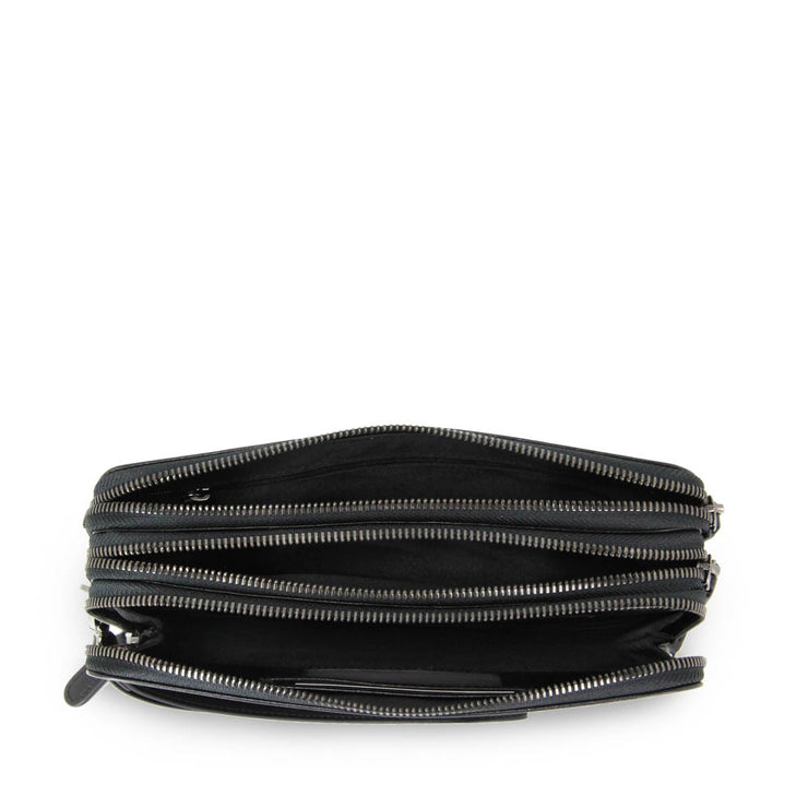 Cooper Triple Compartment Clutch (Black)