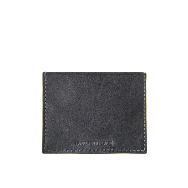 Terra Crocodile Leather Card Holder (Black)