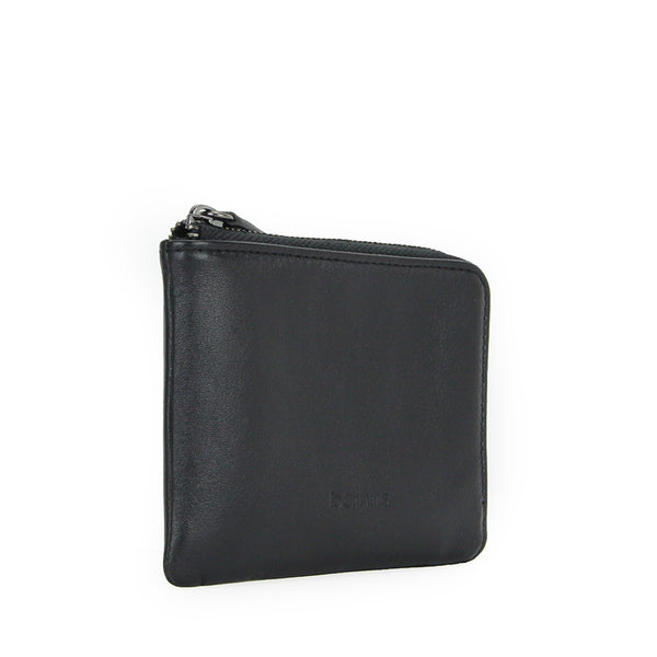 Amos Compact Travel Wallet (Black)