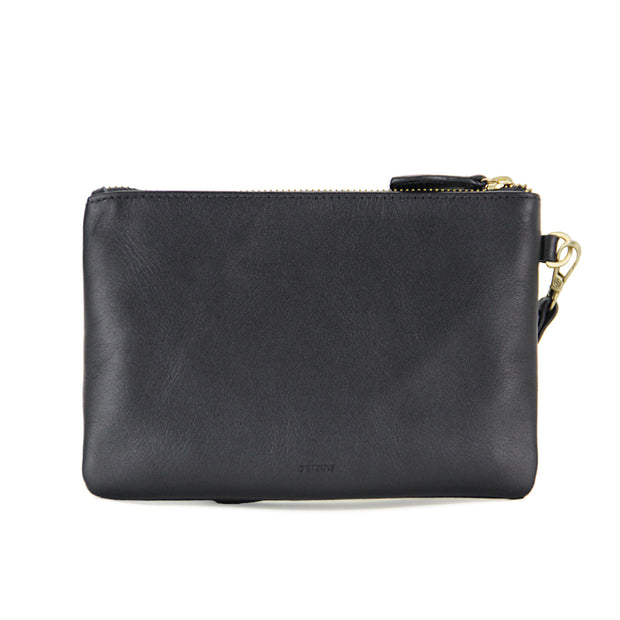 Liberty Leather Tech Pouch (Black)