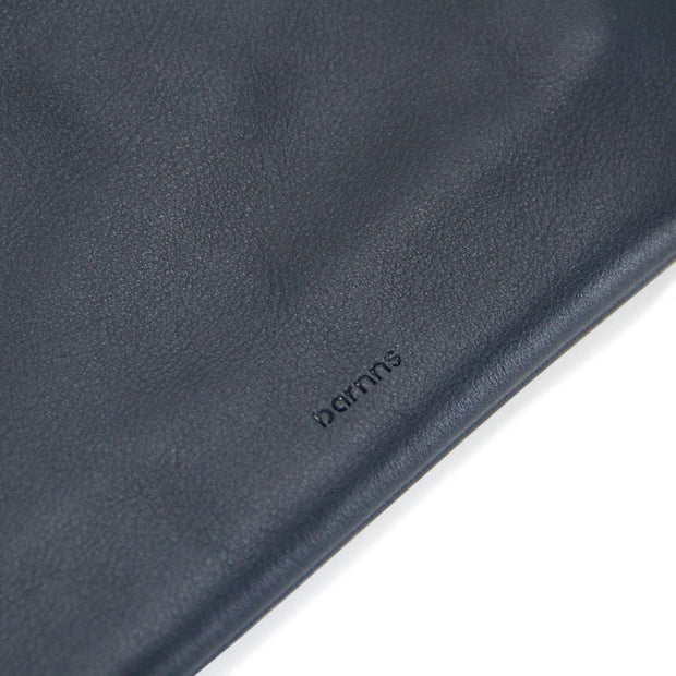 Liberty Leather Tech Pouch (Navy)