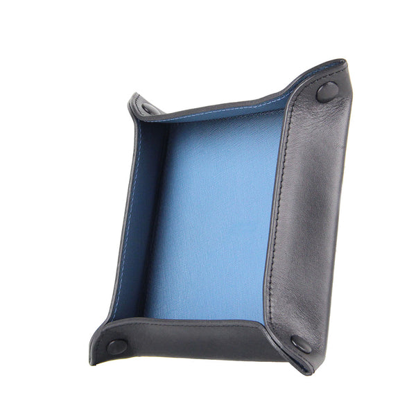 Titus Leather Valet Tray (Black)