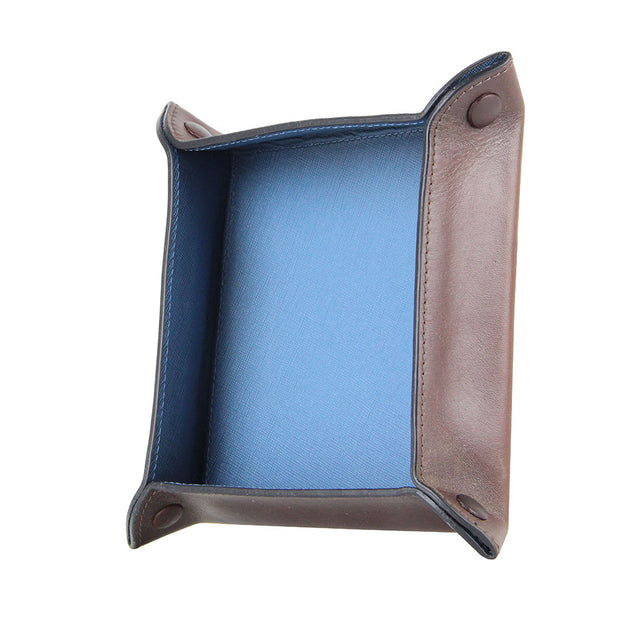Titus Leather Valet Tray (Cafe)