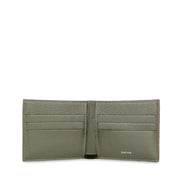 Limited Edition Valour Handcrafted Alligator Leather Slim Billfold Wallet - Green
