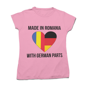 "Tricou ""Made with German Parts"""
