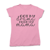 "Tricou ""Drama from my Mama"""