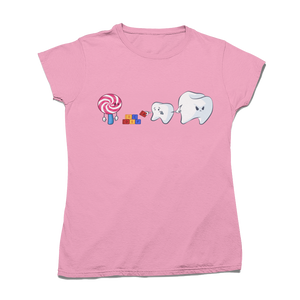"Tricou ""Don't play with candy"""