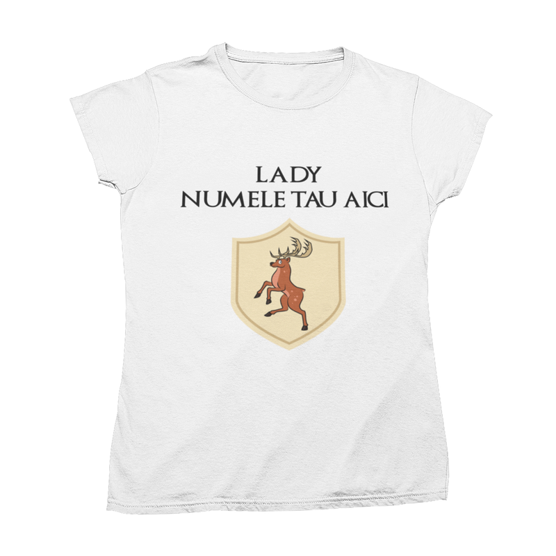 "Tricou ""Little Lady - Deer Edition"""