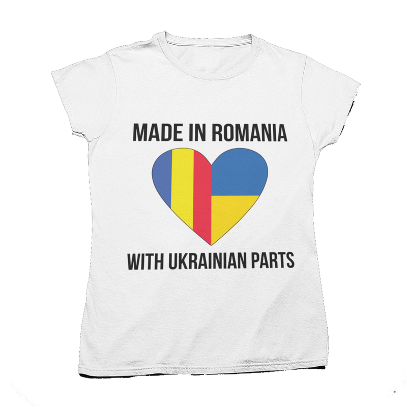 "Tricou ""Made with Ukrainian Parts"""