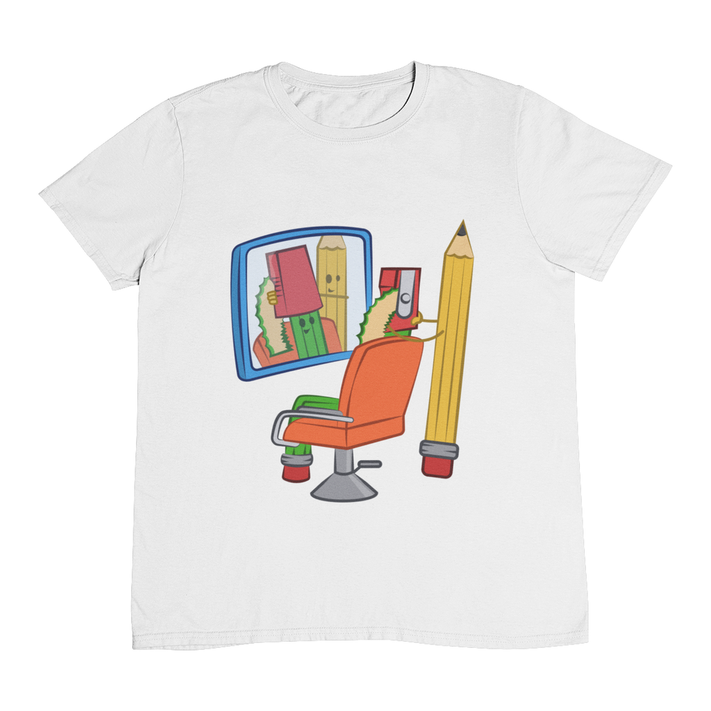 "Tricou ""Pencil Barber"""