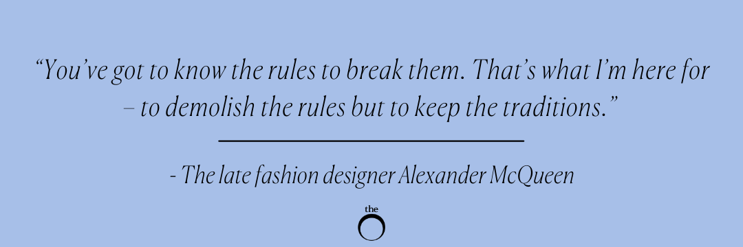 How to set the table the Alexander McQueen way!