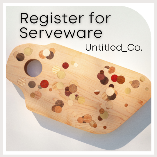 Register for Serveware from Untitled_Co.