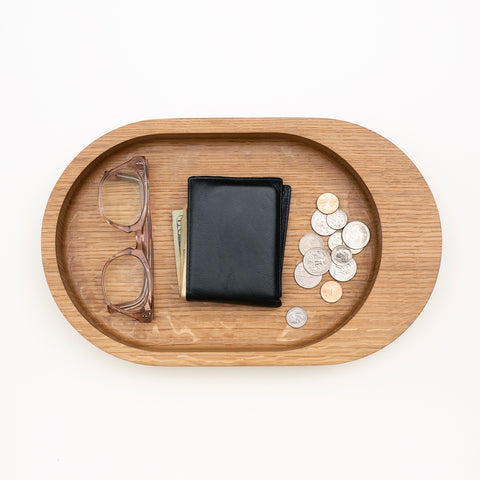 Untitled_Co. Damien Oak Catchall Tray