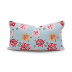 50 States Hydrangea Lumbar Pillow by Honey and Hank