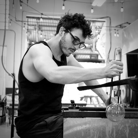 Jared Rosenacker of JFR Glass in Austin, Texas