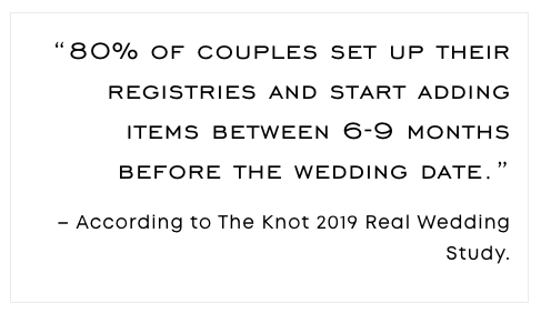 Wedding Registry Stat