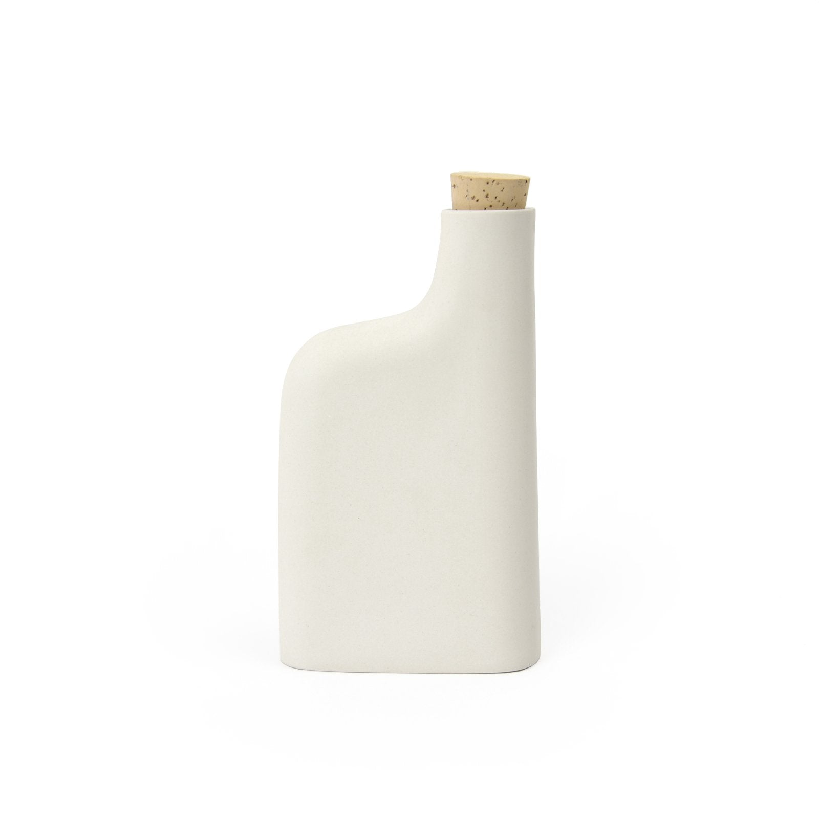 Edgewood Made Matte Porcelain Flask