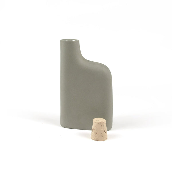 Matte Porcelain Flask