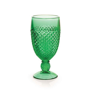 Addison Emerald Green Goblet