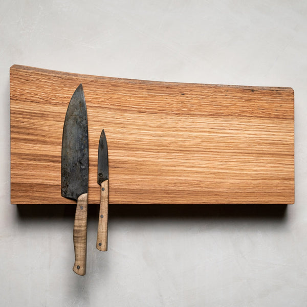 Alabama White Oak Magnetic Knife Holder