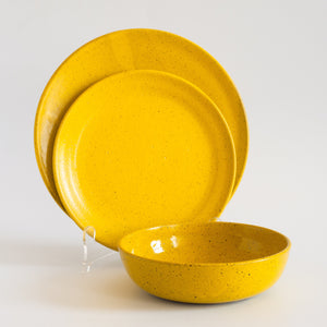 RPK Place Setting Yellow, 3 Piece