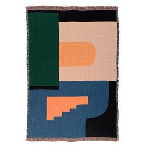 Architecture Throw Blanket