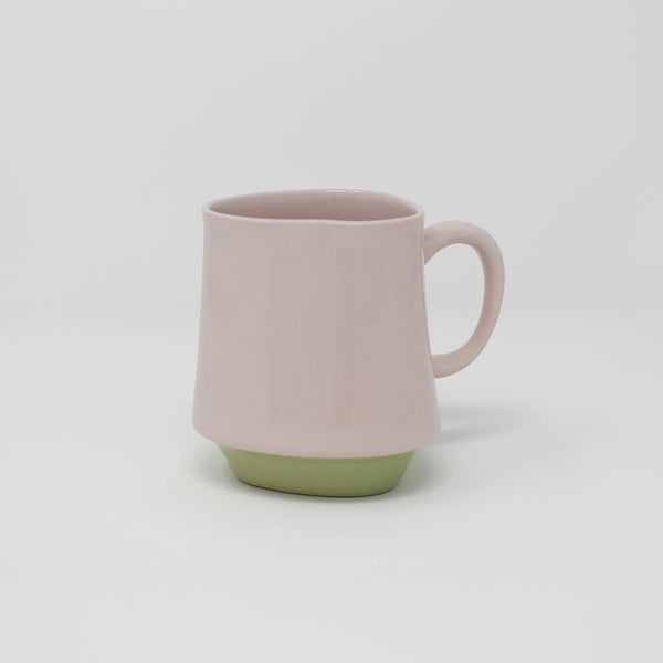 E. Lo Ceramic Art Bottom Curve Mug no.2 Purple Avocado