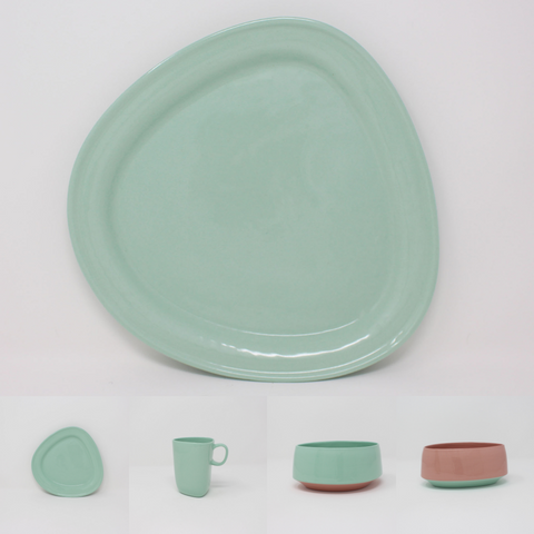 Bermuda Bottom Curve Place Setting, 4-piece