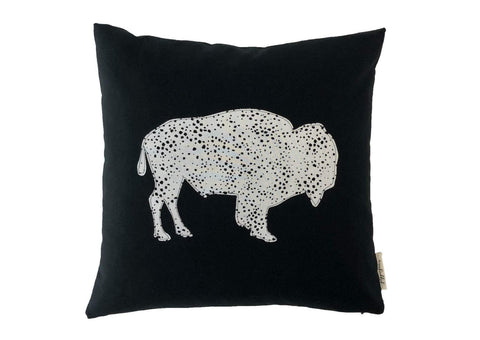 Buffalo Dotty Pillow
