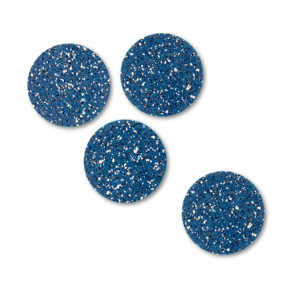 Rubber Round Coasters, Set of 4