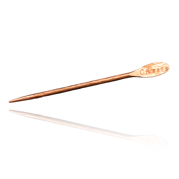 Cheers Specialty Copper Cocktail Pick