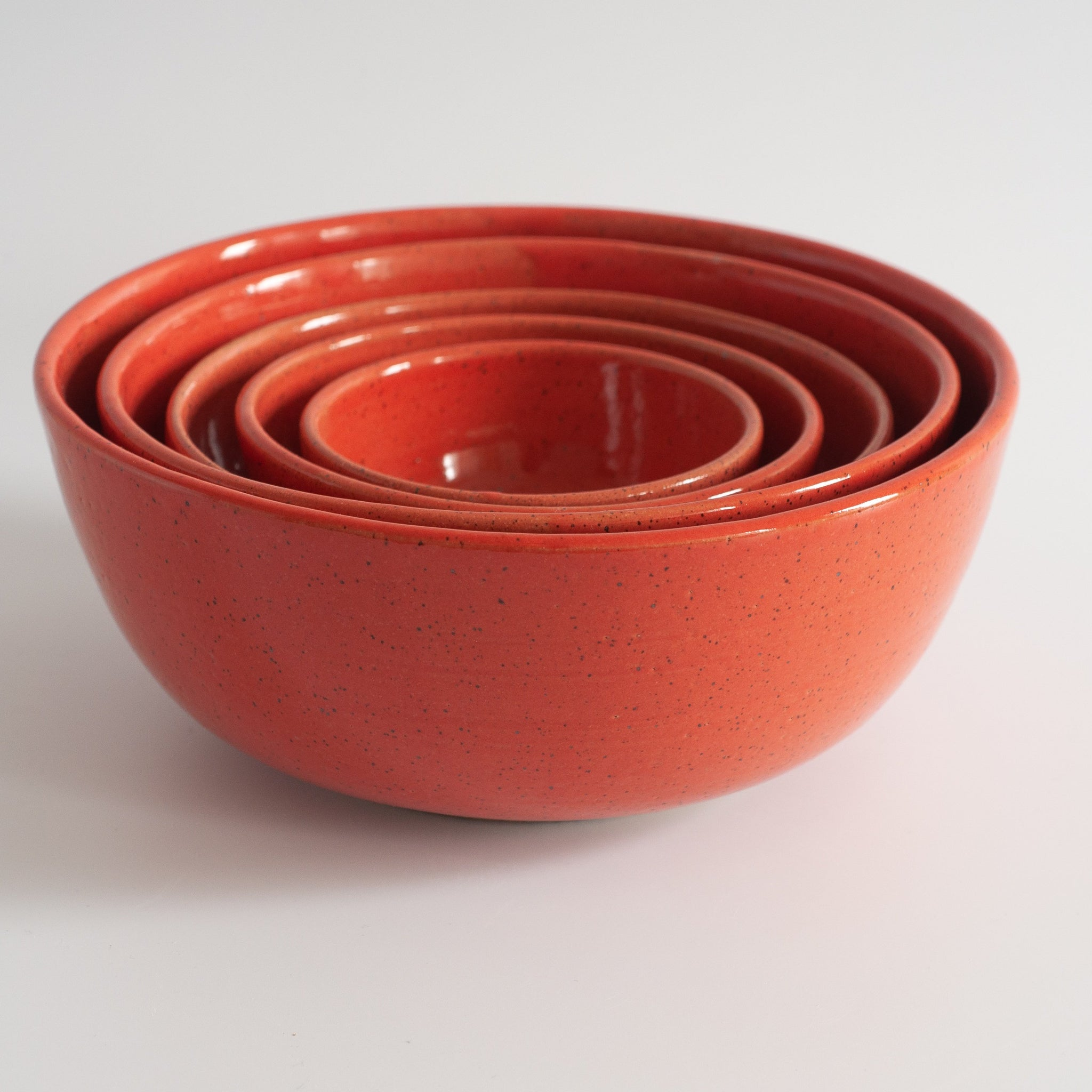 RPK Coral Nesting Mixing Bowls, Set of 5