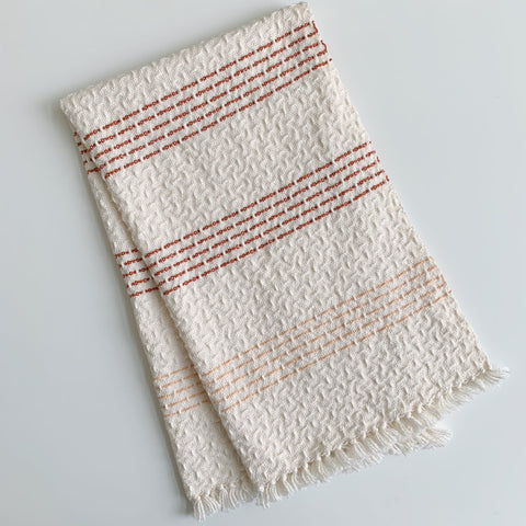 Rust and Peach No.1 Hand Towel