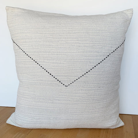 V Stitch Sketch Pillow