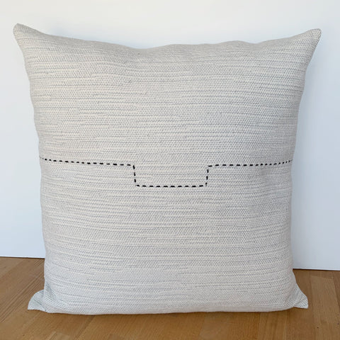Step Stitch Sketch Pillow