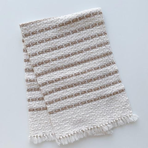 Camel Stripes Hand Towel