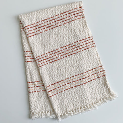 Rust and Peach No. 2 Hand Towel