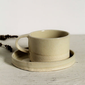 FORM Espresso Cup and Saucer
