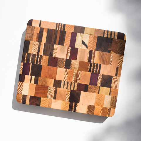 Georges Multicolor End Grain Board