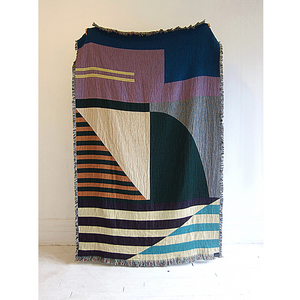 Geometric Throw Blanket