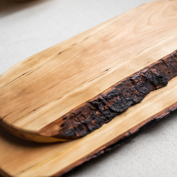 Live Edge Cheese Board