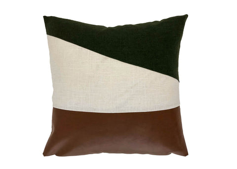 Jane in Hunter Pillow