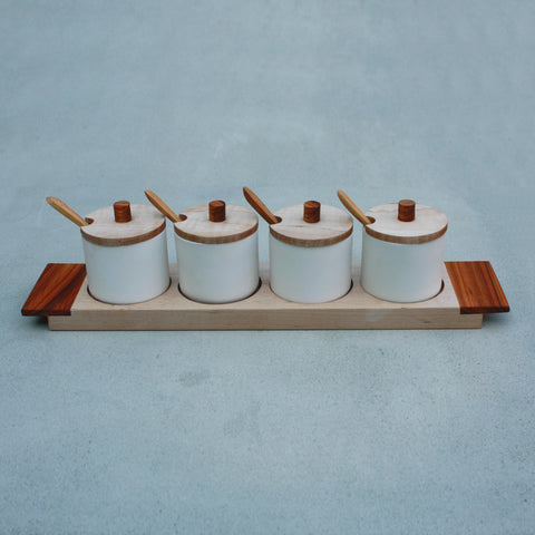Maple Condiment Set
