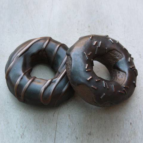 Chocolate Donut Paperweight