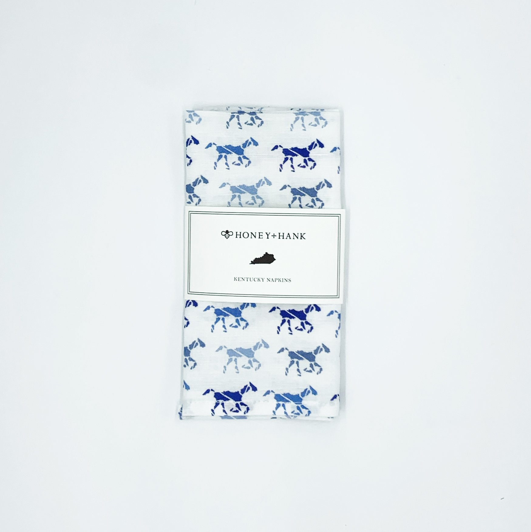Kentucky Derby Horse Napkins, Set of 4