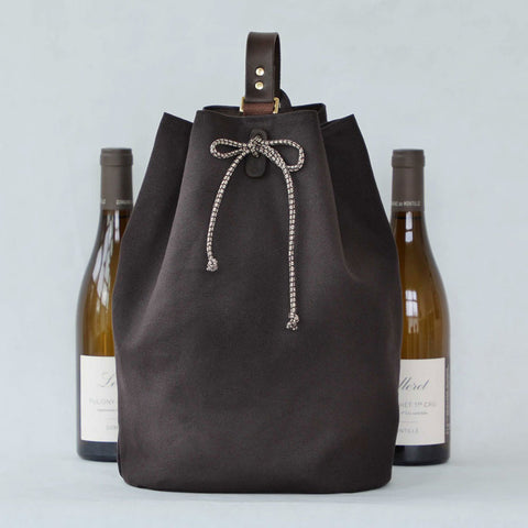 Larkspur 2-Bottle Wine Carrier