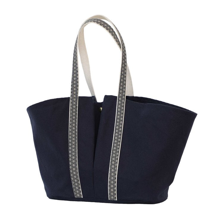Linden Market Tote Midnight Blue