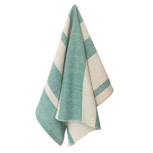 Everyday Bath Hand Towel Aqua