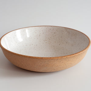 RPK White + Nude Pasta Bowl, Large